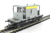 Hornby R6710 20 ton Brake Van DB950619 in BR civil engineers 'dutch' Yellow & Grey