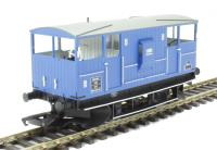 Hornby R6711 ZUV Shark brake van DB993748 in Mainline blue