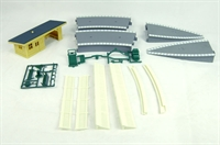 Hornby R8229 Building Accessories Pack 3. Contains 1 x R510, 2 x R464, 2x R463, 1 x R513