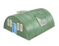 """Hornby R8788 Corrugated Nissen Hut - Skaledale """"Rural"""" range"""