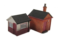Hornby R9745 North Eastern Railway Small Outbuilding