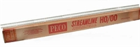 Peco Products SL-102 Pack of 25 1 yard (91.5cm) length of Nickle Silver concrete-sleeper flexible track
