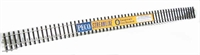 Peco Products SL-700BH 1 Yard O Gauge Flexible Nickle Silver Track (Bullhead Nickel Silver Rail)
