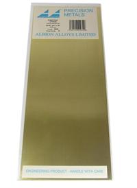 "Albion Alloys SM2 Brass Sheet 0.010 x 4 x 10"" (x2)"