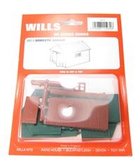 Wills Kits SS13 Domestic garage
