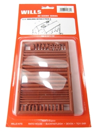 Wills Kits SS46 Buildings pack A - chimneys, drainpipes, sills etc