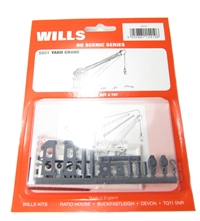 Wills Kits SS51 Goods yard crane with fixed timber jib