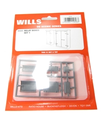 Wills Kits SS85 Relay boxes (Set 1)