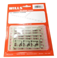 Wills Kits SS87 Concrete cable trunking - for use with SS85 and SS87