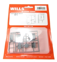 Wills Kits SS88 Relay boxes (Set 2)