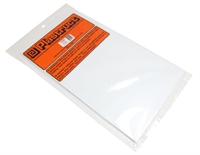 Plastruct SSS-104 91104 1mm Styrene Sheet x 4