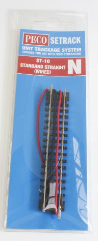 Peco Products ST-10 Standard Straight (wired)