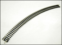 "Peco Products ST-17 N Setrack No3 radius double curve (8 form a circle). 298.5mm/11.75"" radius"