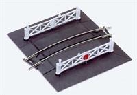 Peco Products ST-266 Setrack 1st radius curved level crossing