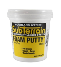 Woodland Scenics ST1447 Foam Putty 1 Pt