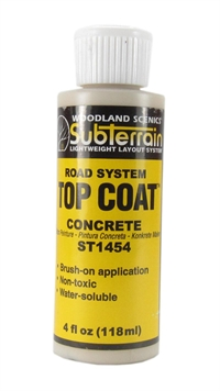 Woodland Scenics ST1454 Top Coat - Concrete Paving - 4 fl.oz