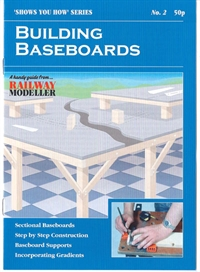 "Peco Products SYH02 Booklet - ""Shows You How"" Series - Building Baseboards"