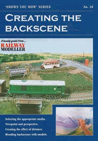 "Peco Products SYH16 Booklet - ""Shows You How"" Series - Creating the Backscene"