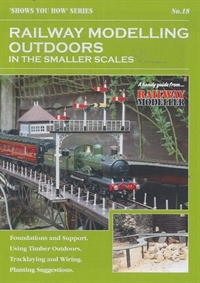 "Peco Products SYH18 Booklet - ""Shows You How"" Series - Railway Modelling Outdoors in the Smaller Scales"