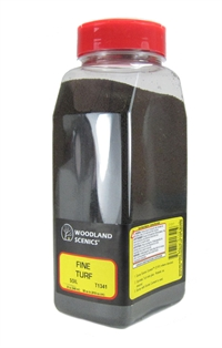 Woodland Scenics T1341 Shaker Of Fine Turf - Soil