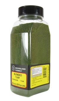 Woodland Scenics T1349 Shaker Of Blended Turf - Green Blend