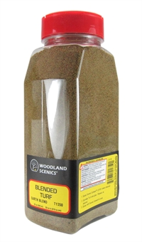 Woodland Scenics T1350 Shaker Of Blended Turf - Earth Blend