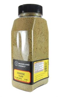 Woodland Scenics T1361 Shaker Of Coarse Turf - Yellow Grass