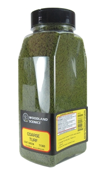 Woodland Scenics T1363 Shaker Of Coarse Turf - Light Green