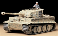 Tamiya 35194 German Pz.Kpfw VI Tiger I Ausf E mid production with figure