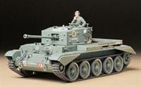 Tamiya 35221 British Cromwell MkIV British cruiser tank MkVIII A27M with figure
