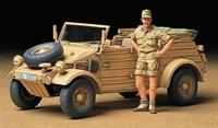 Tamiya 35238 German Kubelwagen Type 82 Afrika-Corps with figure