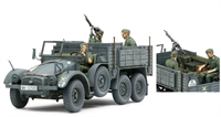 Tamiya 35317 German Krupp Protze with 2 figures & lots of equipment & weapons