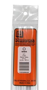 Plastruct TBFS-4 90604  Tbfs-4 Tube Per 10