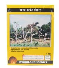 Woodland Scenics TK22 Dead Trees - Pack Of 5