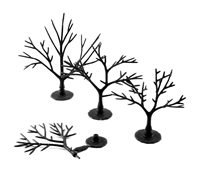 "Woodland Scenics TR1121 2 - 3"" Deciduous - Tree Armatures -  Pack Of 57"