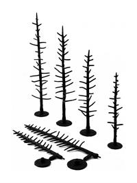 "Woodland Scenics TR1125 4 - 6"" Pine - Tree Armatures -  Pack Of 44"