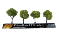 "Woodland Scenics TR3503 2 - 3"" Early Light (Light) Trees - Pack of 4"