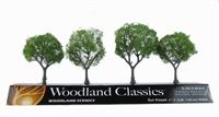 """Woodland Scenics TR3504 2 - 3"""" Sun Kissed (Medium) Trees - Pack Of 4"""