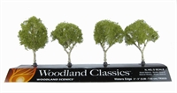 """Woodland Scenics TR3533 2 - 3"""" Waters Edge (Birch) Trees - Pack Of 4"""