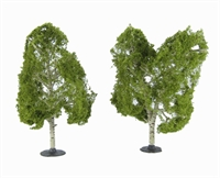 """Woodland Scenics TR3536 5 - 6"""" Waters Edge (Birch) Trees - Pack Of 2"""