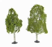 """Woodland Scenics TR3537 6 - 7"""" Waters Edge (Birch) Trees - Pack Of 2"""