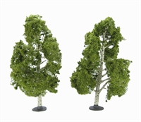 """Woodland Scenics TR3538 7 - 8"""" Waters Edge (Birch) Trees - Pack Of 2"""