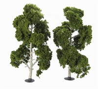 "Woodland Scenics TR3539 8 - 9"" Waters Edge (Birch) Trees - Pack Of 2"