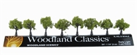 "Woodland Scenics TR3545 0.75 - 1.25"" Early Light (Light) Trees - Pack Of 8"