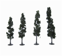 """Woodland Scenics TR3561 4 - 6"""" Standing Timber (Conifer) Trees - Pack Of 4"""