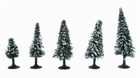 "Woodland Scenics TR3567 2 - 3.5"" Snow Dusted (Snow Fir) Trees - Pack Of 5"