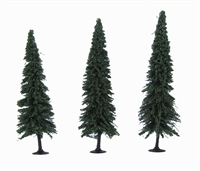 """Woodland Scenics TR3573 6 - 7"""" Forever Green (Fir) Trees - Pack Of 3"""