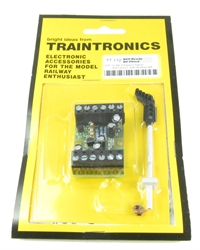 Traintronics TT112 3-aspect red/yellow/green signal with feather left
