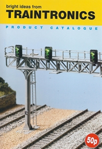 Traintronics TTCAT Traintronics catalogue leaflet