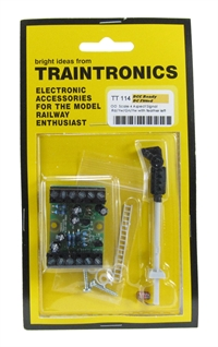 Traintronics TT114 4-aspect signal with feather left c/w interface board